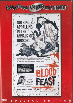 BLOOD FEAST - Special Edition DVD