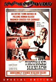 TWO THOUSAND MANIACS! - Special Edition DVD