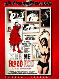 COLOR ME BLOOD RED - Special Edition DVD