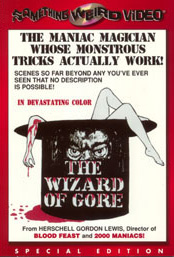 WIZARD OF GORE - Special Edition DVD
