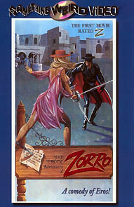 EROTIC ADVENTURES OF ZORRO - Special Edition DVD
