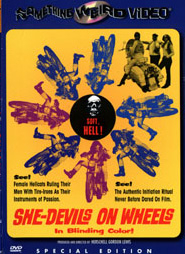SHE DEVILS ON WHEELS - Special Edition DVD