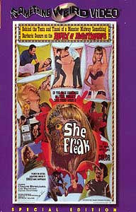 SHE FREAK - Special Edition DVD