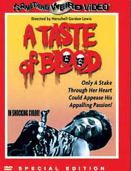 TASTE OF BLOOD - Special Edition DVD