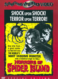 HORRORS OF SPIDER ISLAND - Special Edition DVD