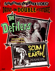 DEFILERS / SCUM OF THE EARTH - Special Edition DVD