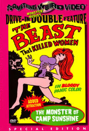 BEAST THAT KILLED WOMEN / MONSTER AT CAMP SUNSHINE - Special Edition DVD