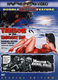 TERROR IN THE MIDNIGHT SUN / INVASION OF ANIMAL PEOPLE - SPECIAL EDITION DVD