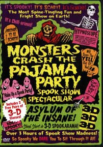 MONSTERS CRASH THE PAJAMA PARTY - SPOOK SHOW SPECTACULAR - Special Edition DVD