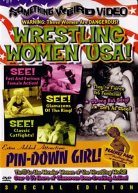 WRESTLING WOMEN USA / PIN-DOWN GIRL - Special Edition DVD