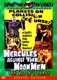 HERCULES AGAINST THE MOON MEN - Special Edition DVD