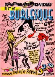 BEST OF BURLESQUE - Special Edition DVD Two Disc Set