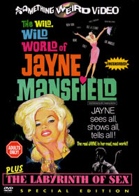 WILD WILD WORLD OF JAYNE MANSFIELD / LABYRINTH OF SEX - Special Edition DVD