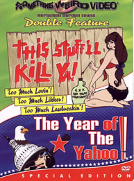 THIS STUFF'LL KILL YA / YEAR OF THE YAHOO - Special Edition DVD