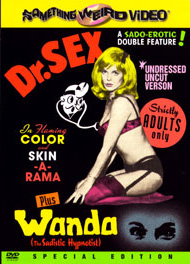 DR. SEX / WANDA THE SADISTIC HYPNOTIST - Special Edition DVD