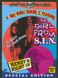GIRL FROM S.I.N. / HENRY'S NIGHT IN - Special Edition DVD