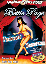 BETTIE PAGE IN VARIETEASE & TEASERAMA - Special Edition DVD