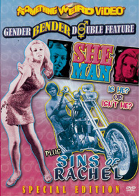 SHE MAN / SINS OF RACHEL - Special Edition DVD