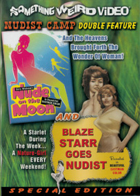 NUDE ON THE MOON / BLAZE STARR GOES NUDIST - Special Edition DVD