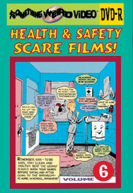 HEALTH AND SAFETY SCARE FILMS VOL 06 - DVD-R
