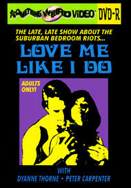 LOVE ME LIKE I DO - DVD-R