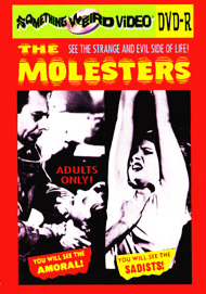 MOLESTERS, THE - DVD-R