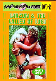 TARZUN AND THE VALLEY OF LUST - DVD-R