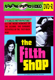 FILTH SHOP, THE - DVD-R