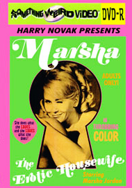 MARSHA THE EROTIC HOUSEWIFE - DVD-R
