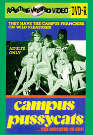 CAMPUS PUSSYCATS - DVD-R
