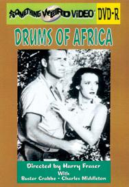 DRUMS OF AFRICA - DVD-R