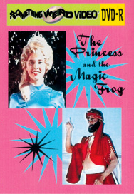 PRINCESS AND THE MAGIC FROG - DVD-R