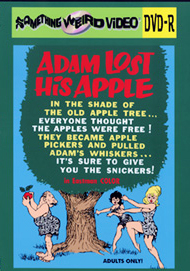 ADAM LOST HIS APPLE - DVD-R