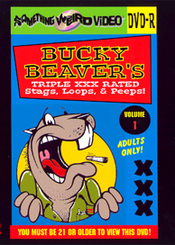 BUCKY BEAVER'S STAGS LOOPS AND PEEPS VOL 001 - DVD-R