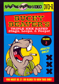 BUCKY BEAVER'S STAGS LOOPS AND PEEPS VOL 002 - DVD-R