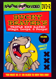 BUCKY BEAVER'S STAGS LOOPS AND PEEPS VOL 004 - DVD-R