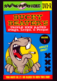 BUCKY BEAVER'S STAGS LOOPS AND PEEPS VOL 005 - DVD-R
