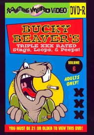 BUCKY BEAVER'S STAGS LOOPS AND PEEPS VOL 006 - DVD-R