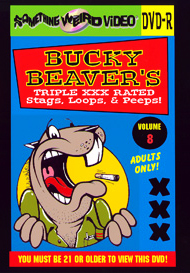 BUCKY BEAVER'S STAGS LOOPS AND PEEPS VOL 008 - DVD-R