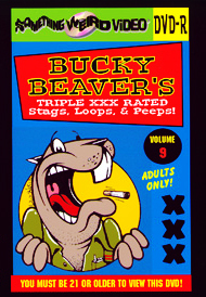 BUCKY BEAVER'S STAGS LOOPS AND PEEPS VOL 009 - DVD-R