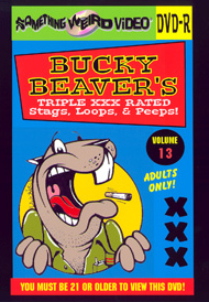 BUCKY BEAVER'S STAGS LOOPS AND PEEPS VOL 013 - DVD-R