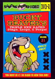 BUCKY BEAVER'S STAGS LOOPS AND PEEPS VOL 021 - DVD-R
