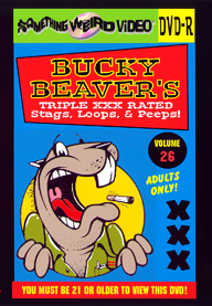 BUCKY BEAVER'S STAGS LOOPS AND PEEPS VOL 026 - DVD-R