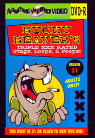 BUCKY BEAVER'S STAGS LOOPS AND PEEPS VOL 031 - DVD-R