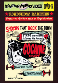 COCAINE FIENDS - DVD-R