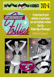 GRINDHOUSE FOLLIES VOL 05 - DVD-R