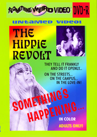 SOMETHING'S HAPPENING (a.k.a. HIPPIE REVOLT) - DVD-R