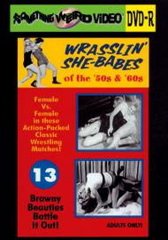 WRASSLIN' SHE BABES VOL 13 - DVD-R
