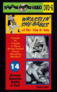 WRASSLIN' SHE BABES VOL 14 - DVD-R