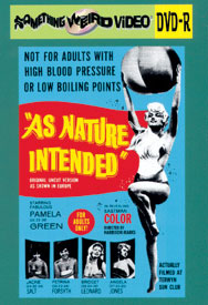 AS NATURE INTENDED - DVD-R